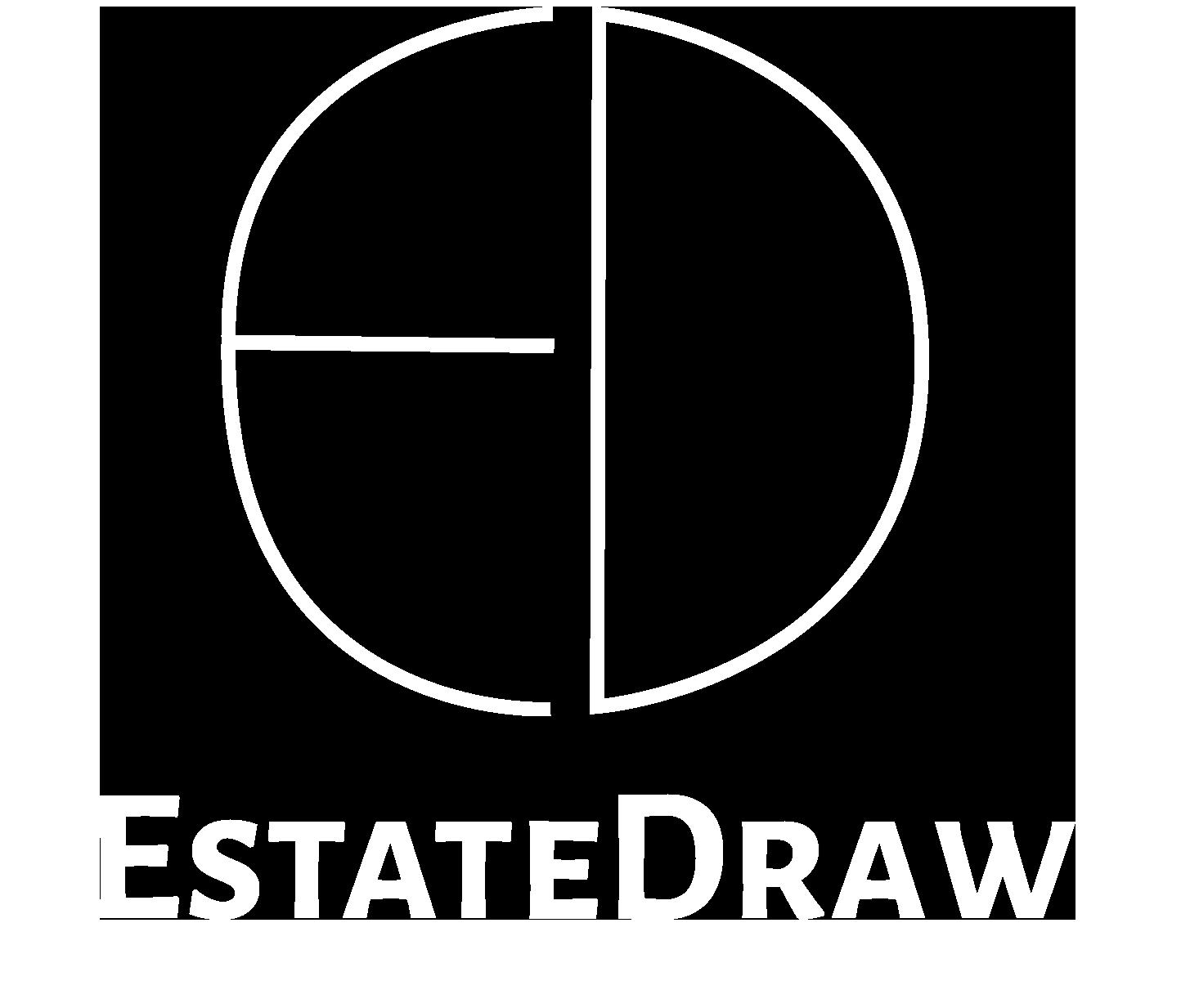 Estatedrawlogo white try 2