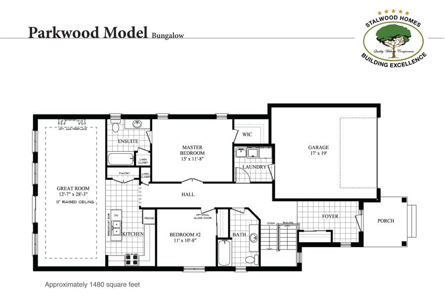 Parkwood floorplan