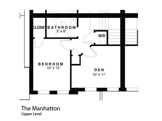 Condo   manhattan upper level