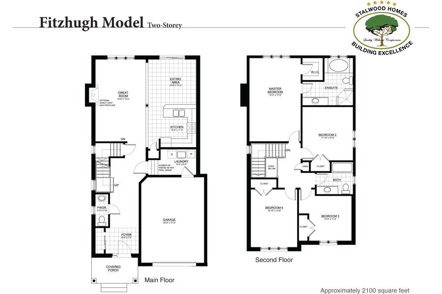 Fitzhugh floor plan